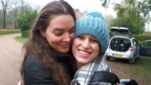 Rebecca and Alex in the Netherlands